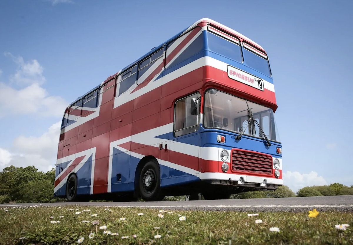 The Spice Bus from 'Spice World' is now on Airbnb