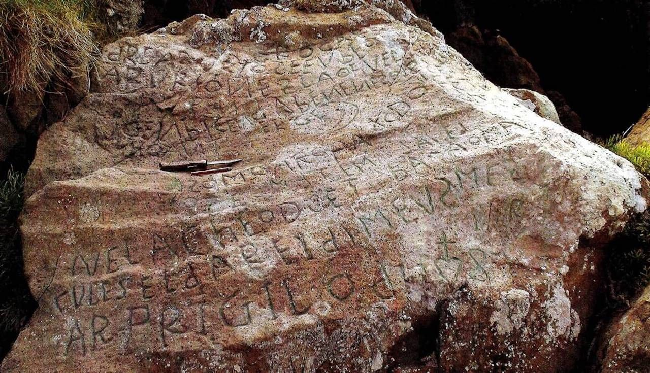 $2,235 reward for deciphering stone