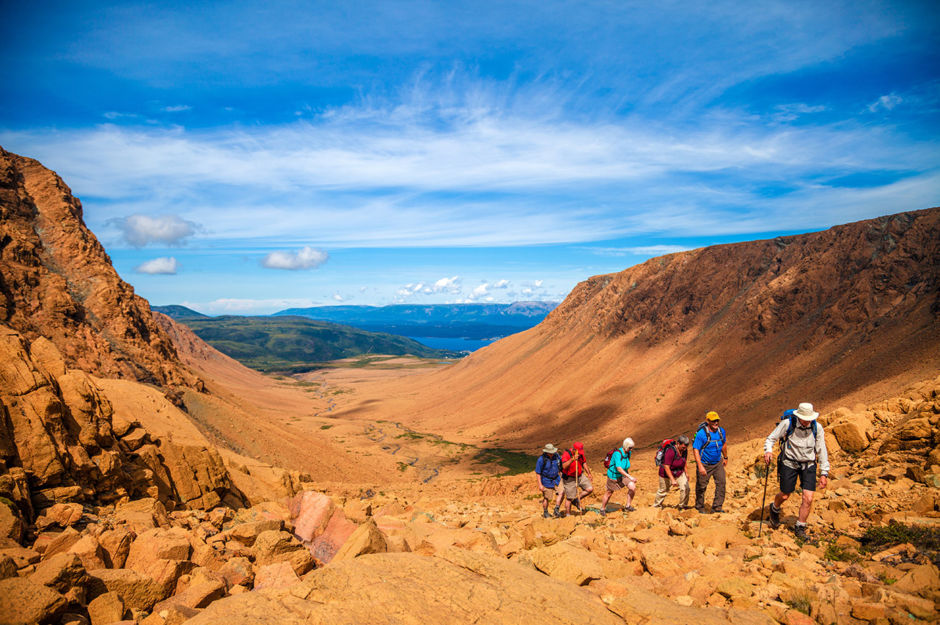 Tablelands Gros Morne National Park Western