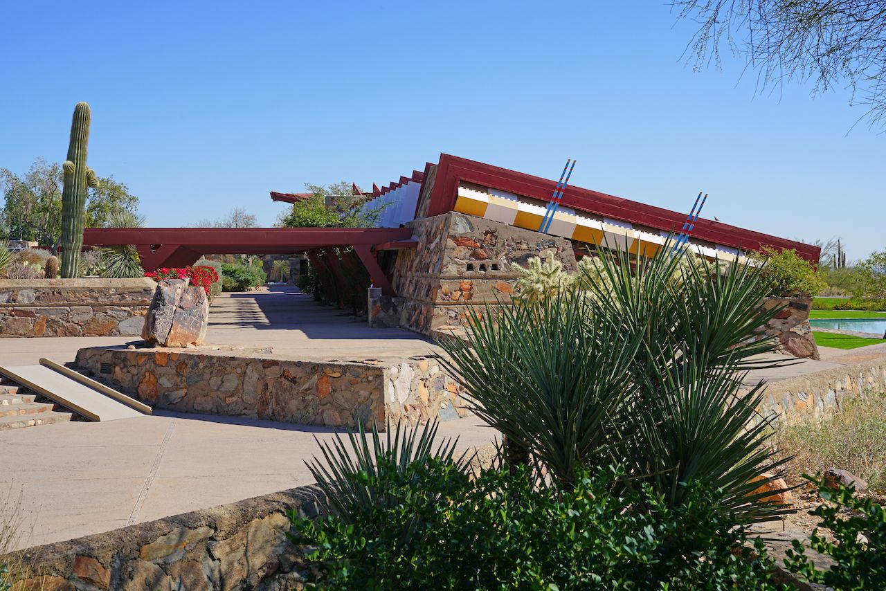 Taliesin West in Phoenix, Arizona