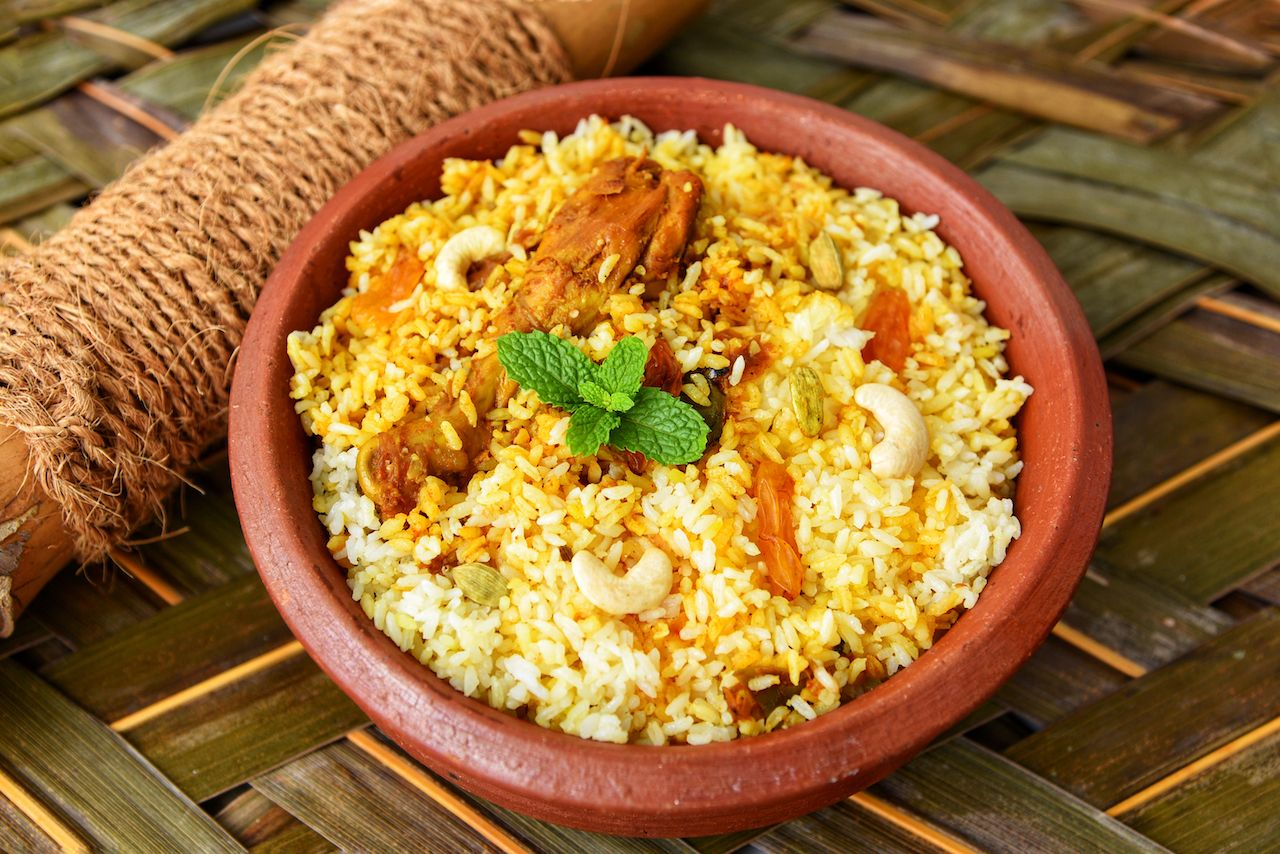 Different types of biryani in India
