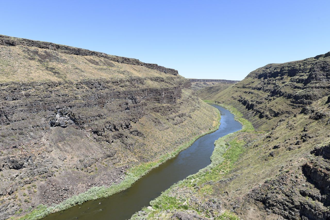 The Wild and Scenic Owyhee River Above Rome, Oregon