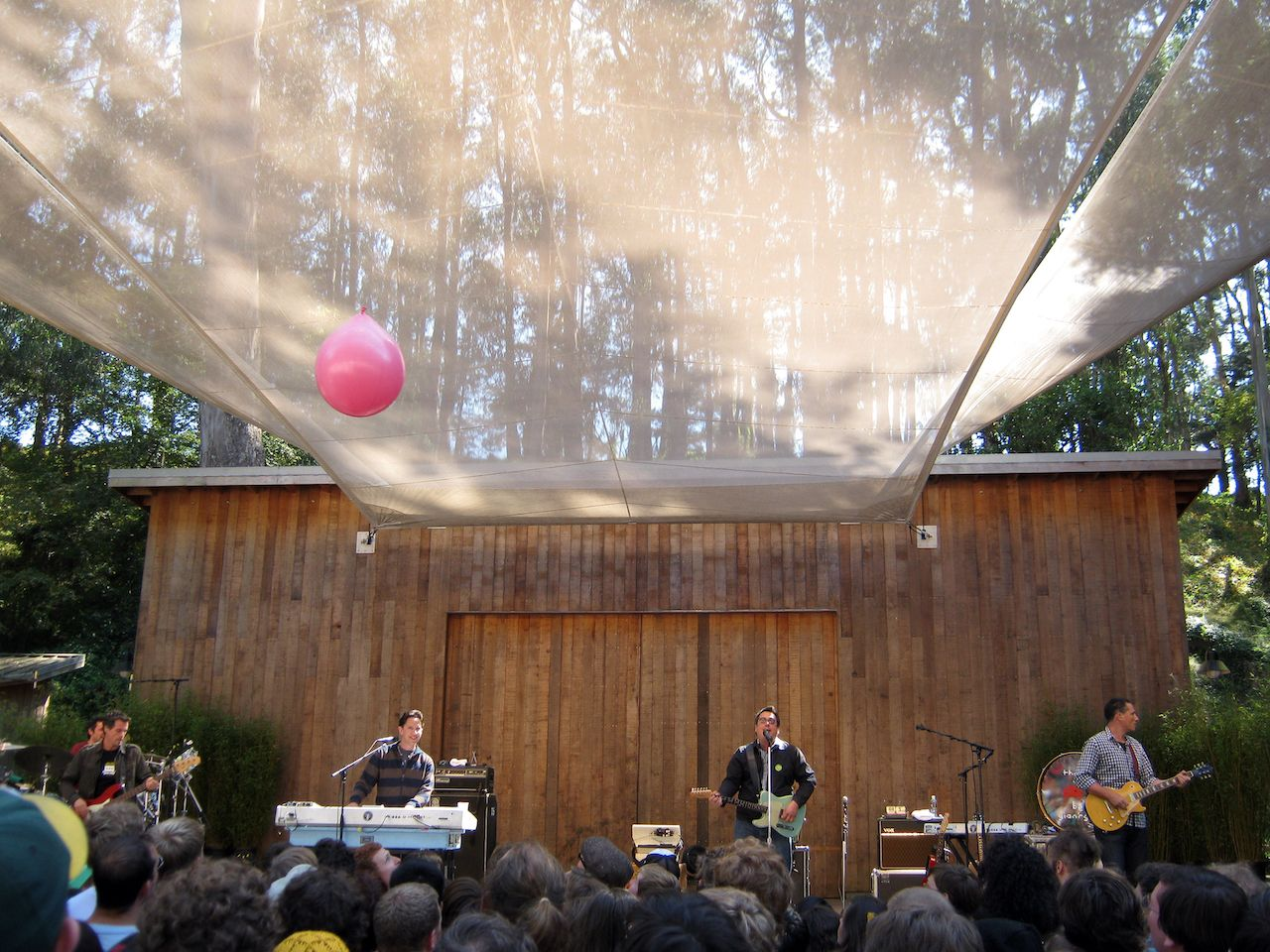 They Might Be Giants performing at SF's Stern Grove Festival