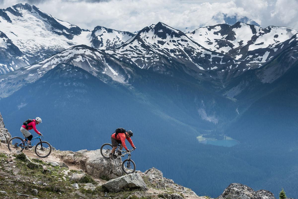 The 5 best ski resorts to go mountain biking in North America this summer