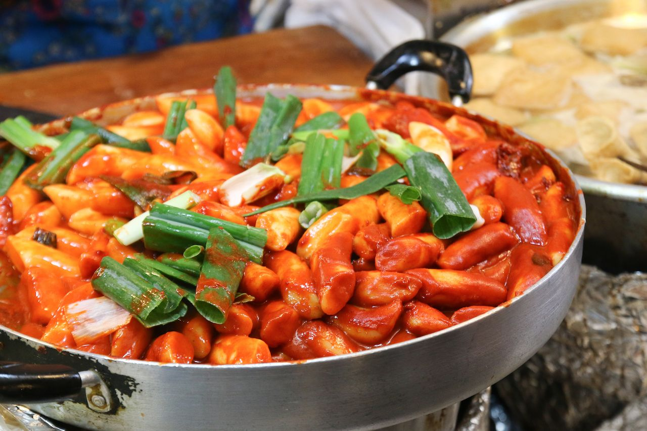 Tteokbokki, Korean spicy rice cake