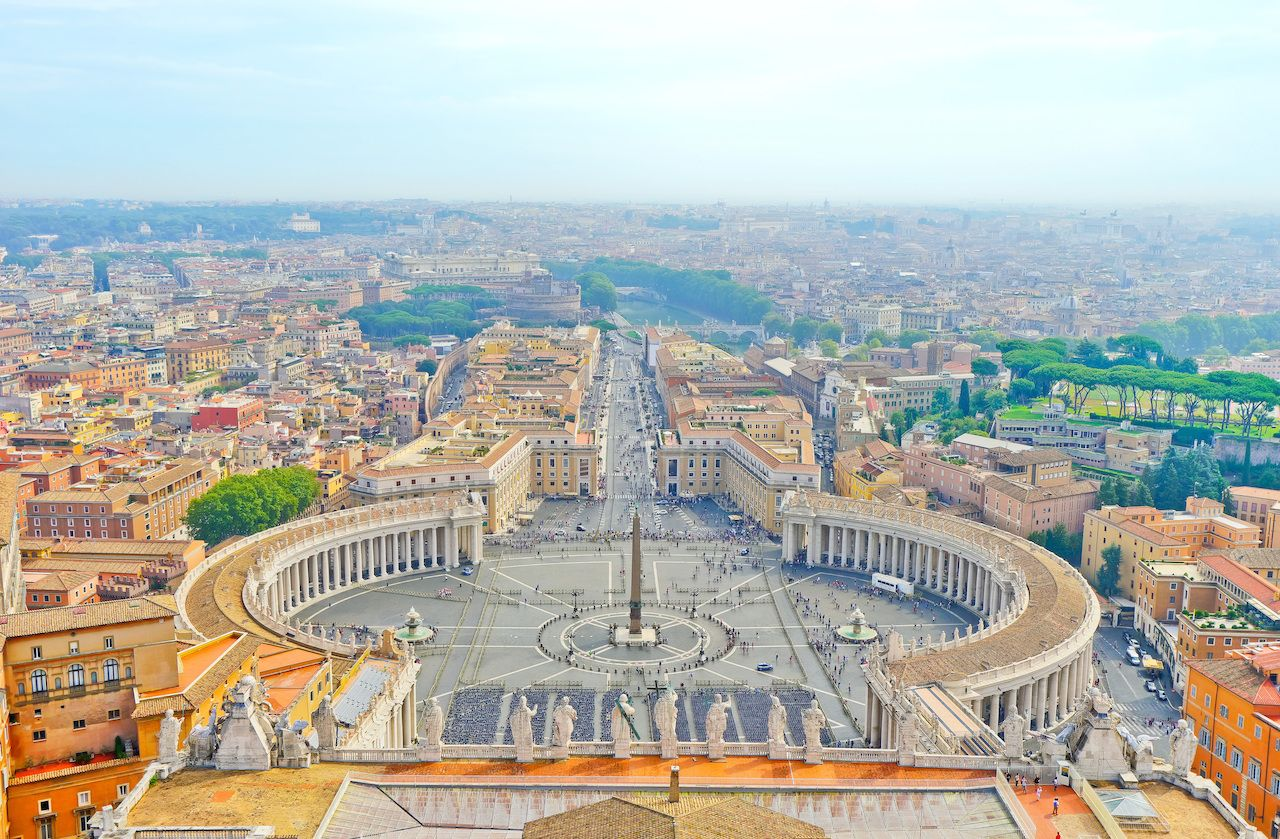 Best places to eat near Vatican City