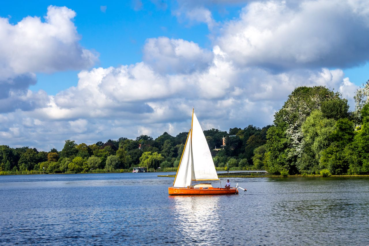 Wannsee in Berlin, Germany