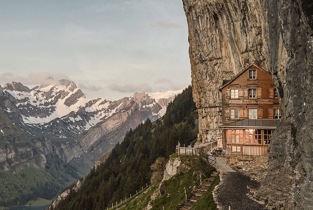 Swiss Äscher restaurant reopening