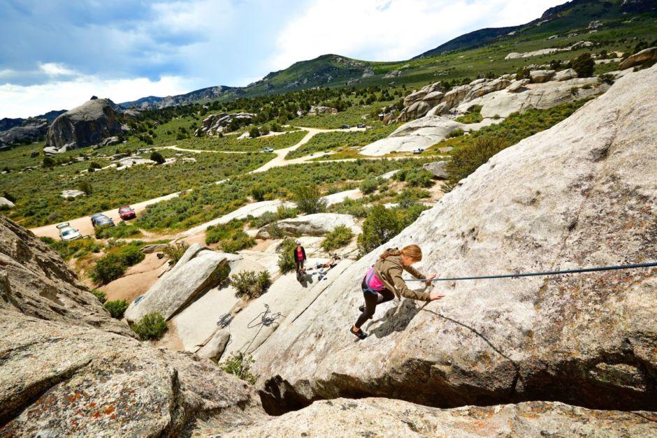 Rock Climbing City of Rocks Idaho family friendly