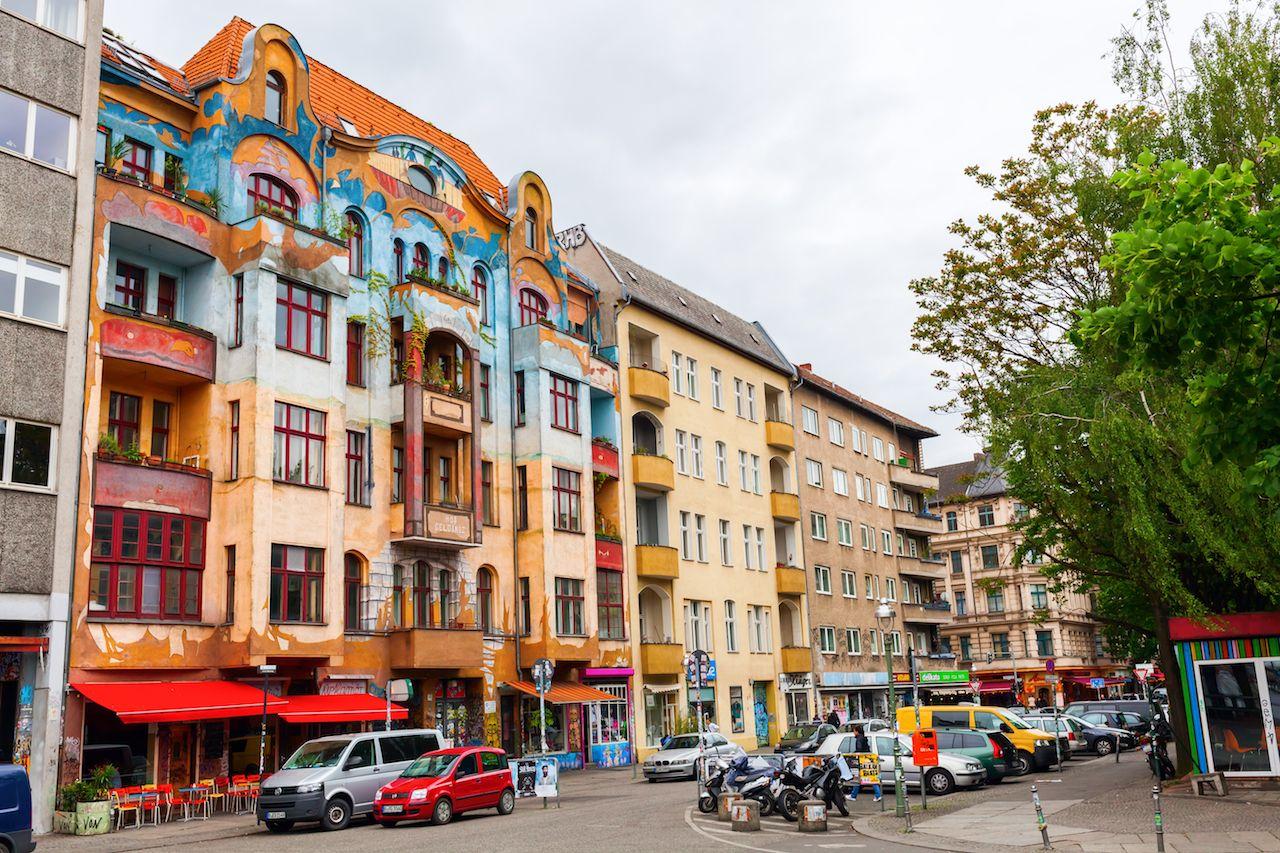 street view in the Berlin district Kreuzberg