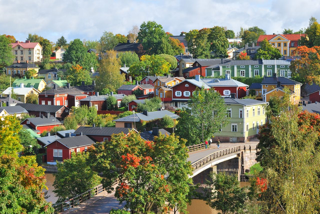 A very beautiful old town in Finland, Porvoo