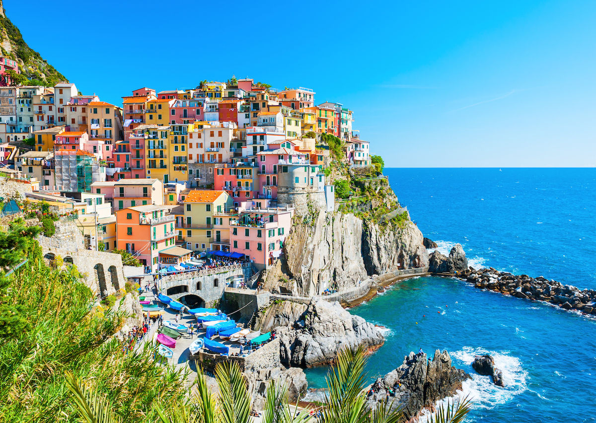 The best way to experience Cinque Terre is from the sea