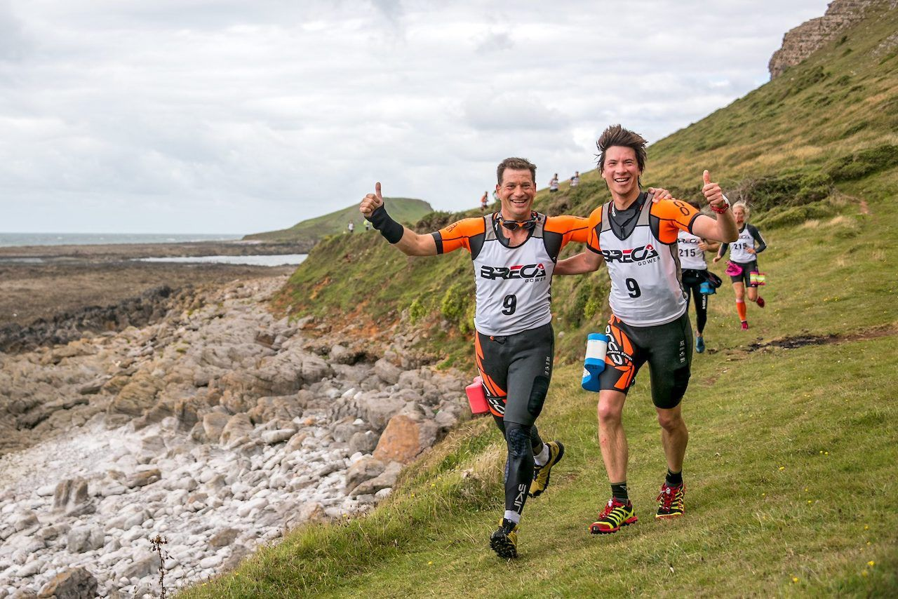 Breca Swimrun at Gower Peninsula
