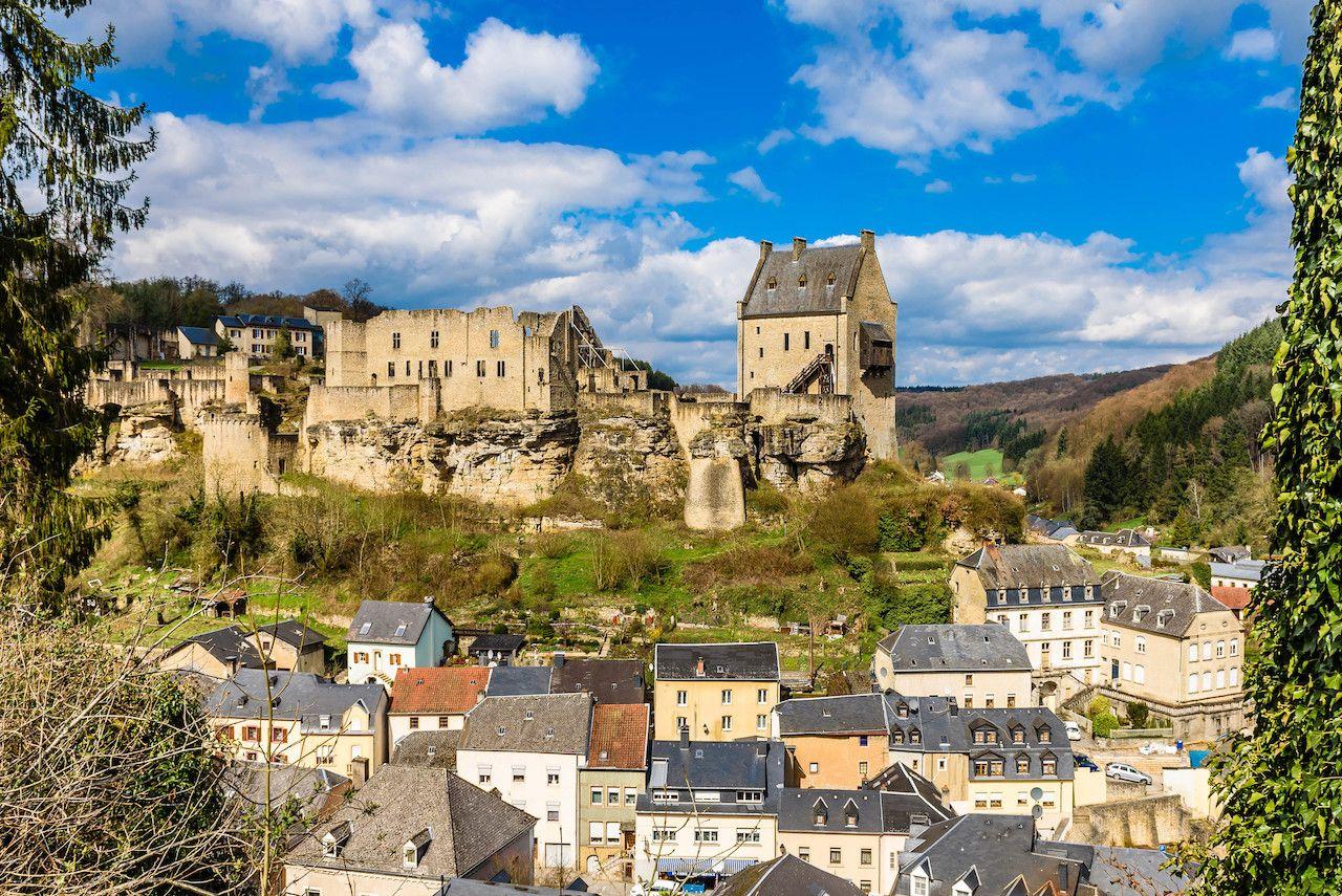 Castle of Larochette, Luxembourg