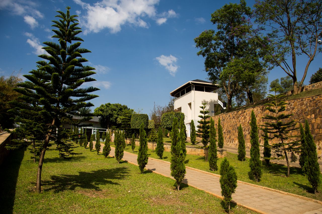 Exterior of the Kigali Genocide Memorial