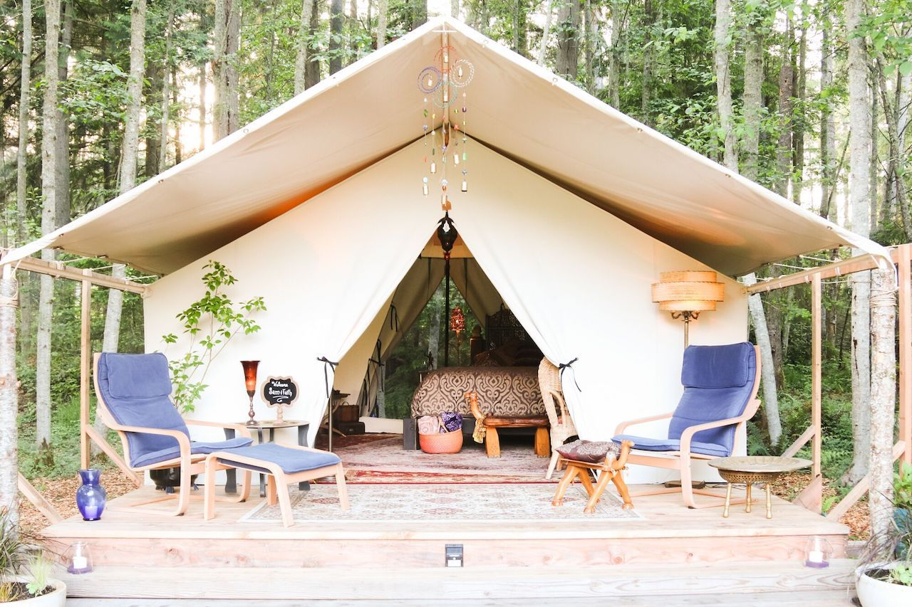 Best glamping in Whidbey Island in Washington near Seattle