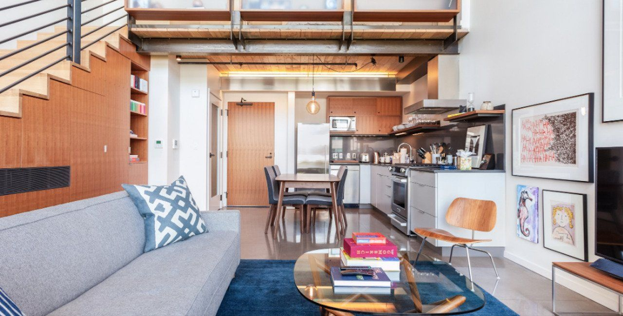 Historic loft in Pioneer Square Airbnb Seattle