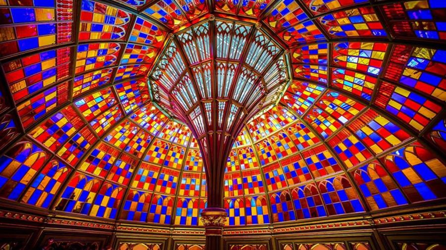 The 11 most beautiful glass ceilings around the world