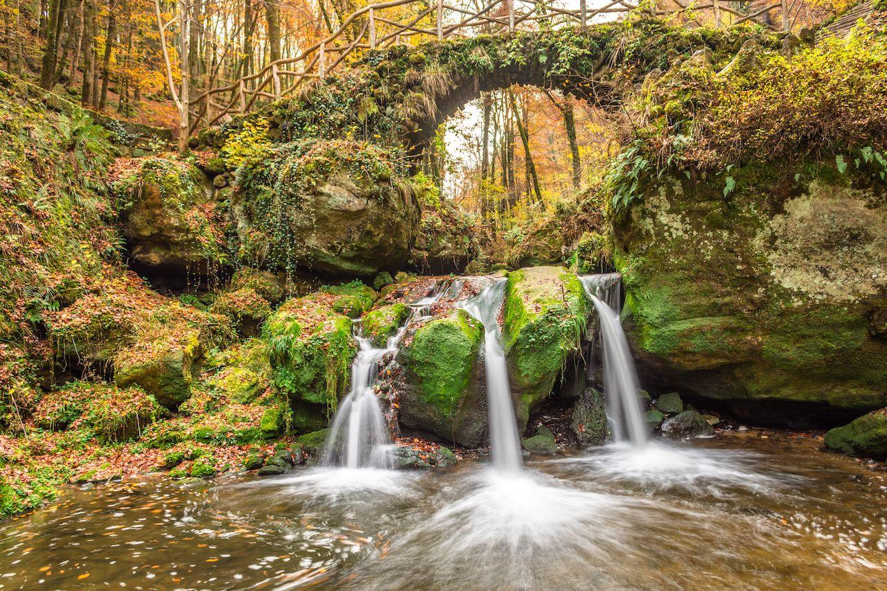 Mullerthal Trail in Berdorf, Echternach, Luxembourg