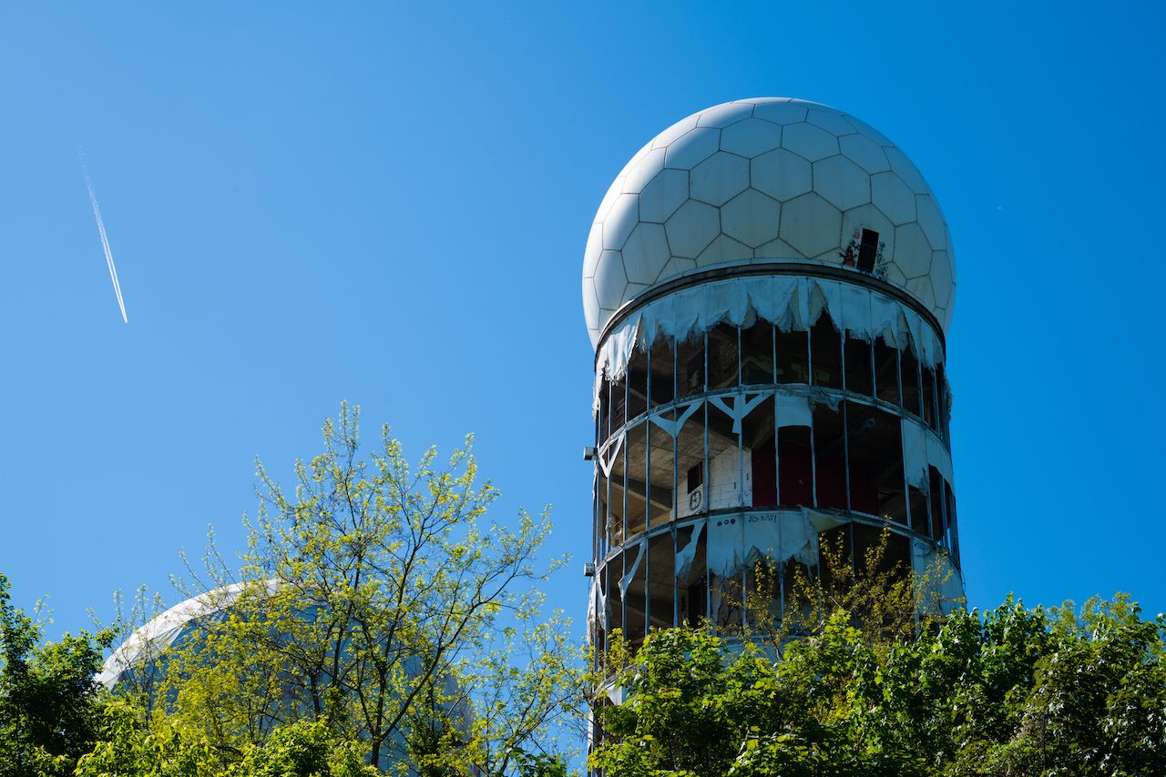 Old Radome teufelsberg in Berlin