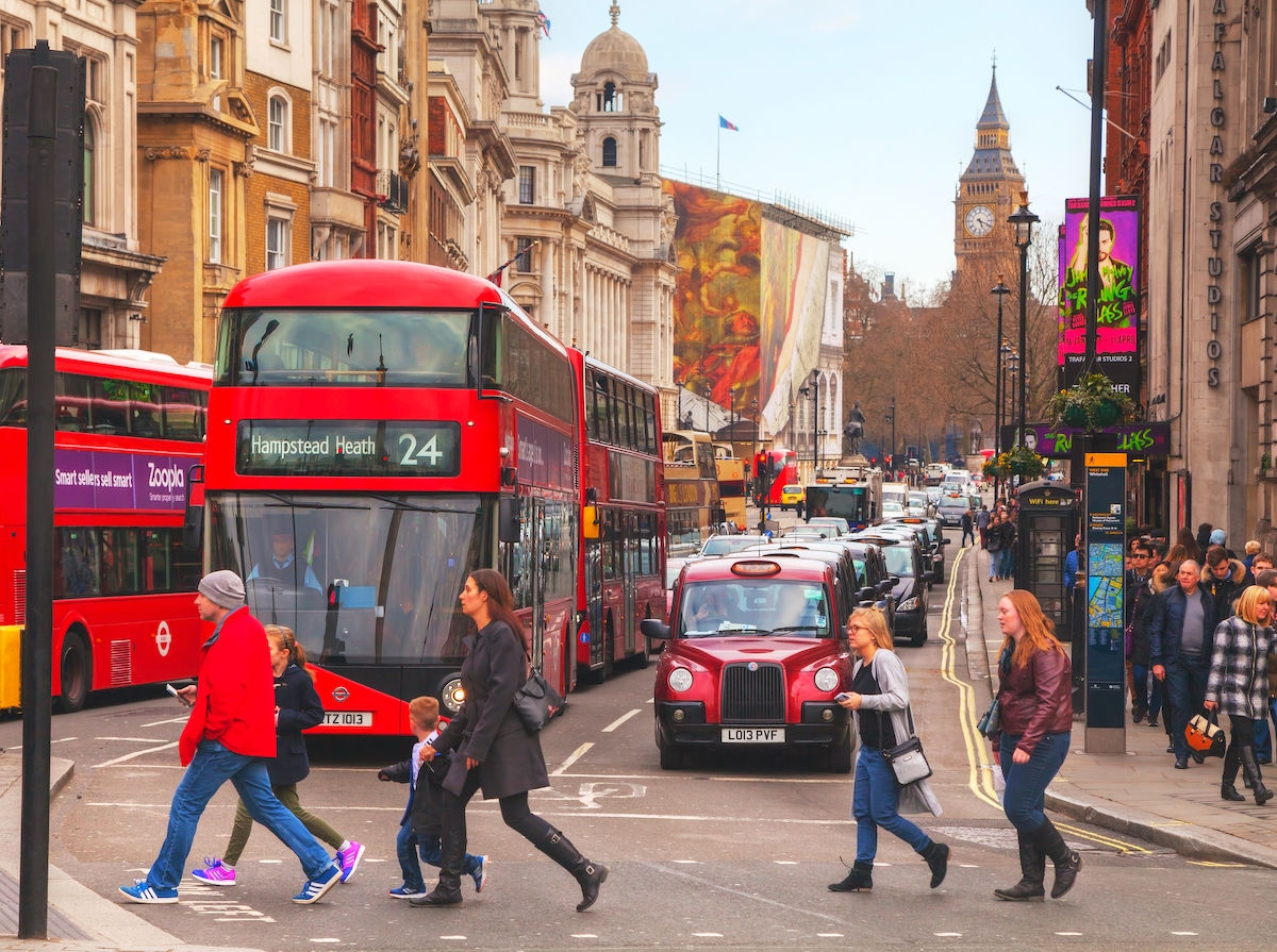 London is taking a breather with a car-free day this September