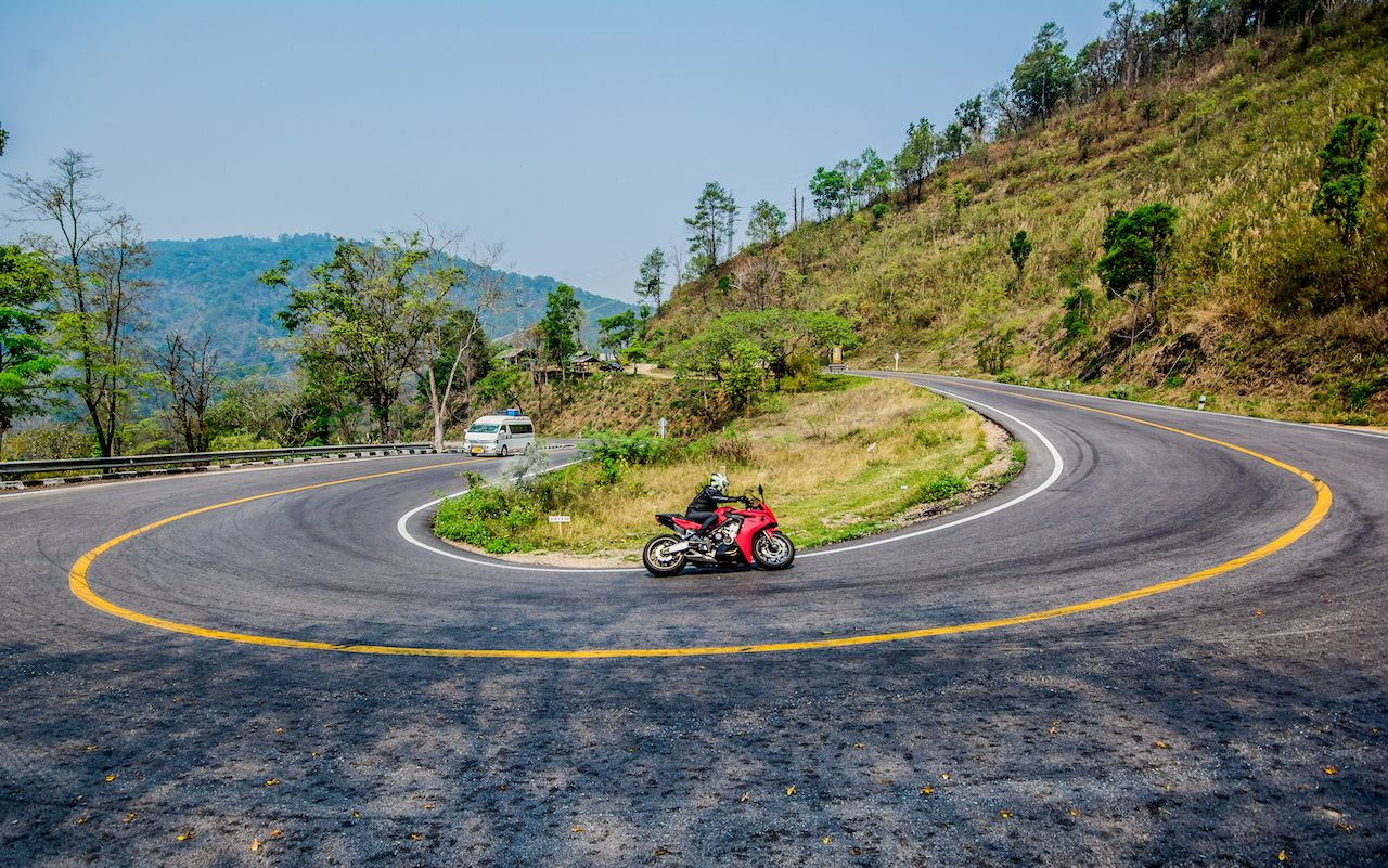 How to ride a motorbike from Chiang Mai to Pai