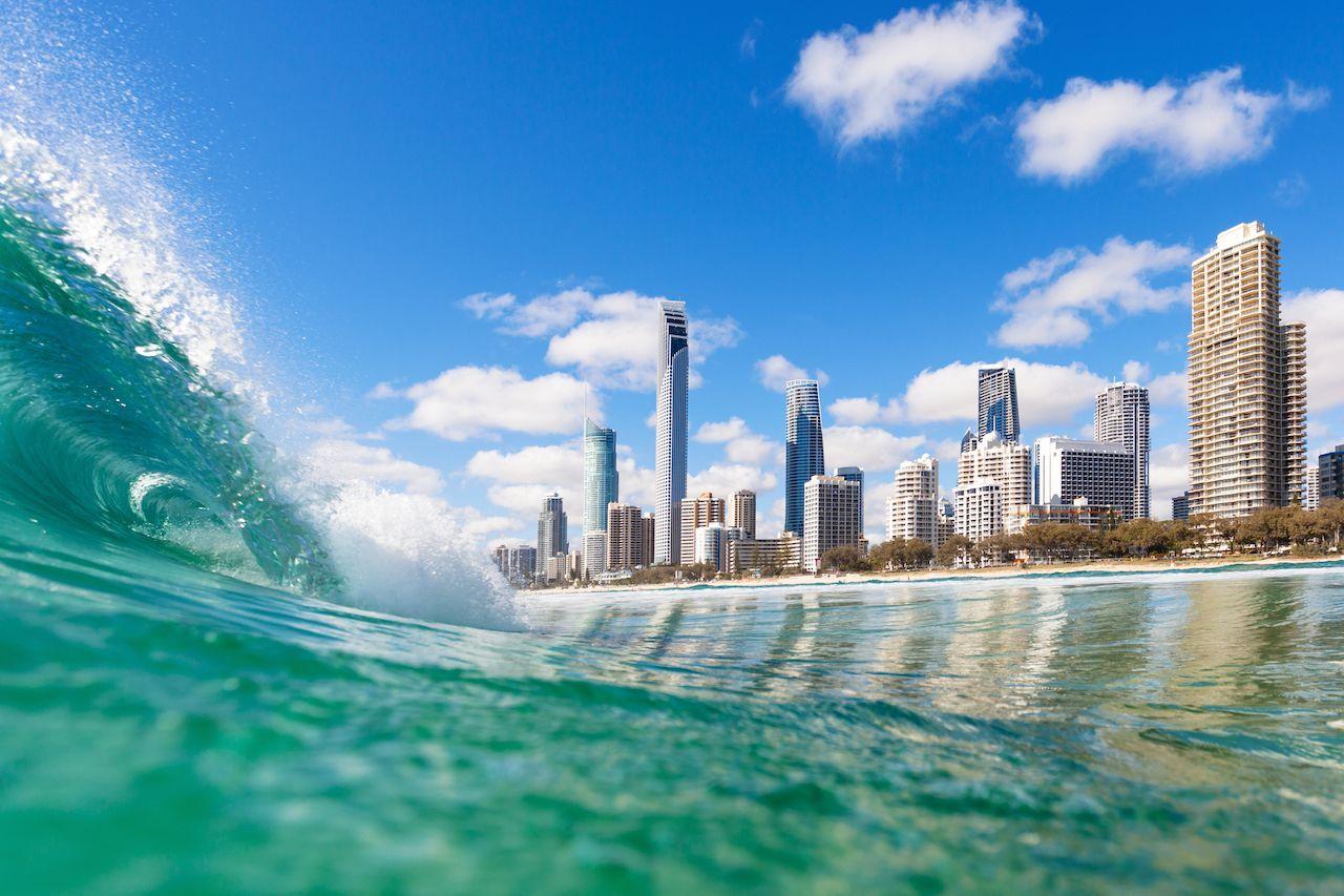 Surfers Paradise on the Gold Coast, Australia