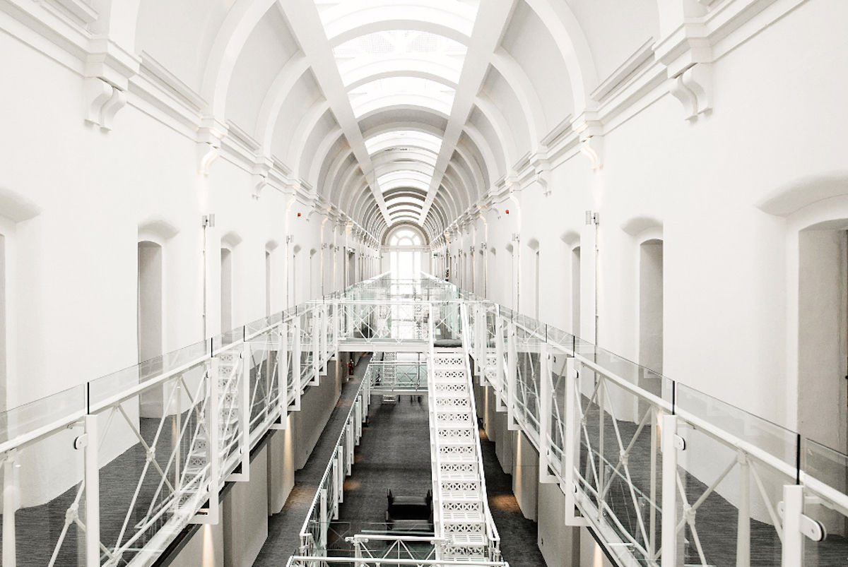9 amazing hotels that used to be prisons, banks, theaters, and more