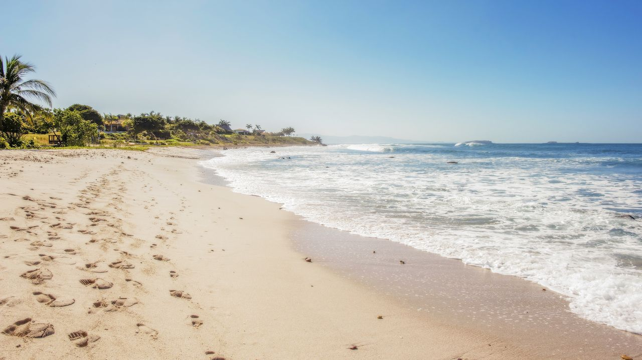 A Beautiful Beach in Punta de Mita, Mexico