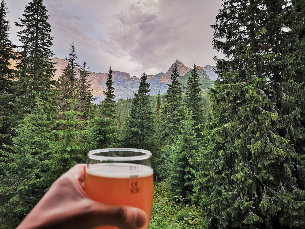Find this hidden pop-up bar in a national forest and win free beer for life