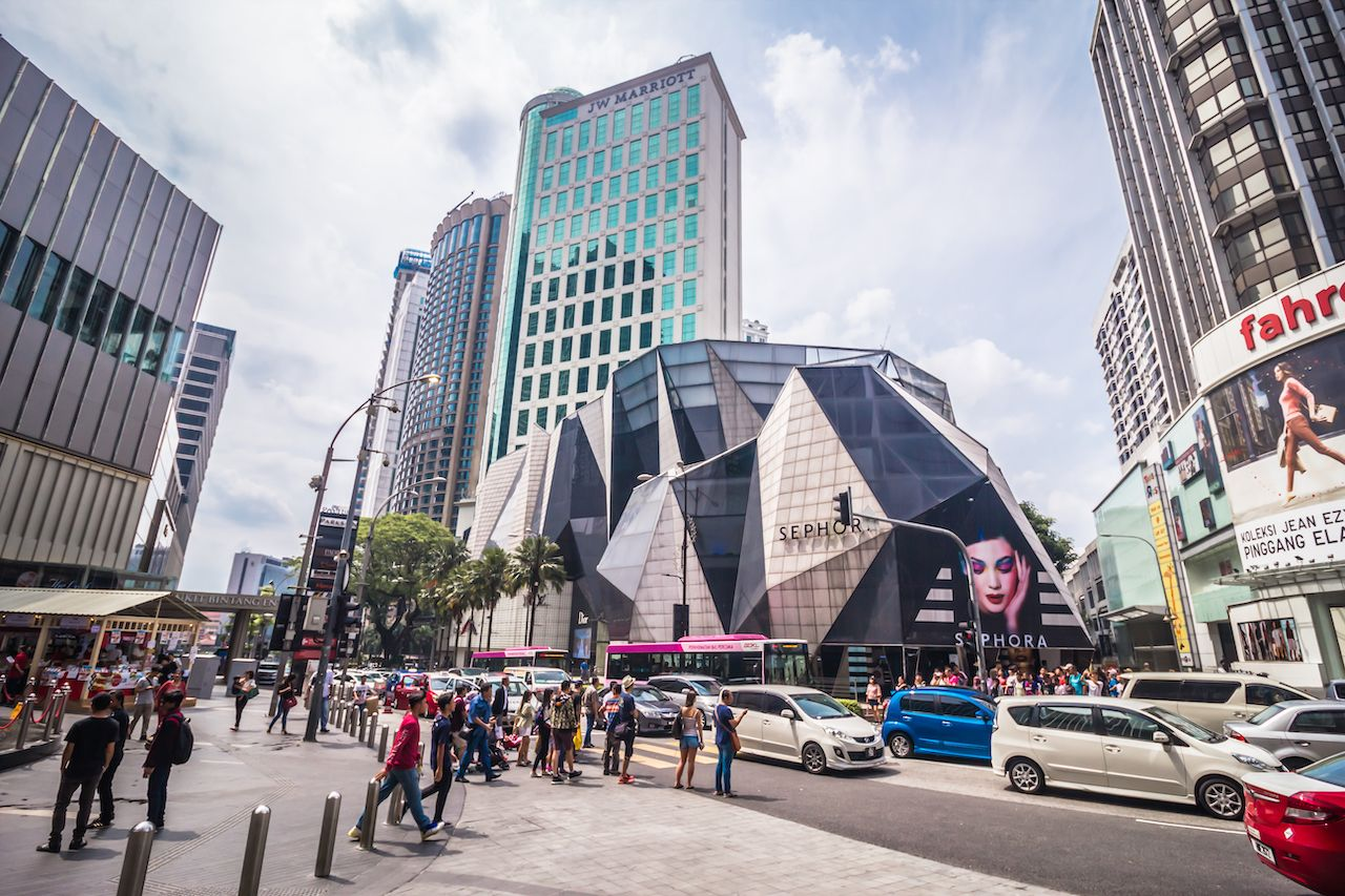 Bukit Bintang, Kuala Lumpur, travel
