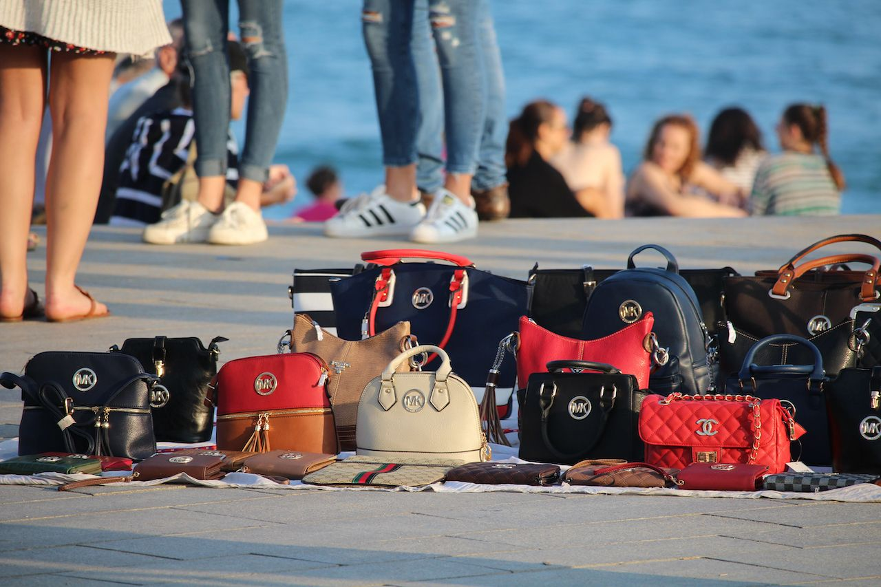 Counterfeit purses