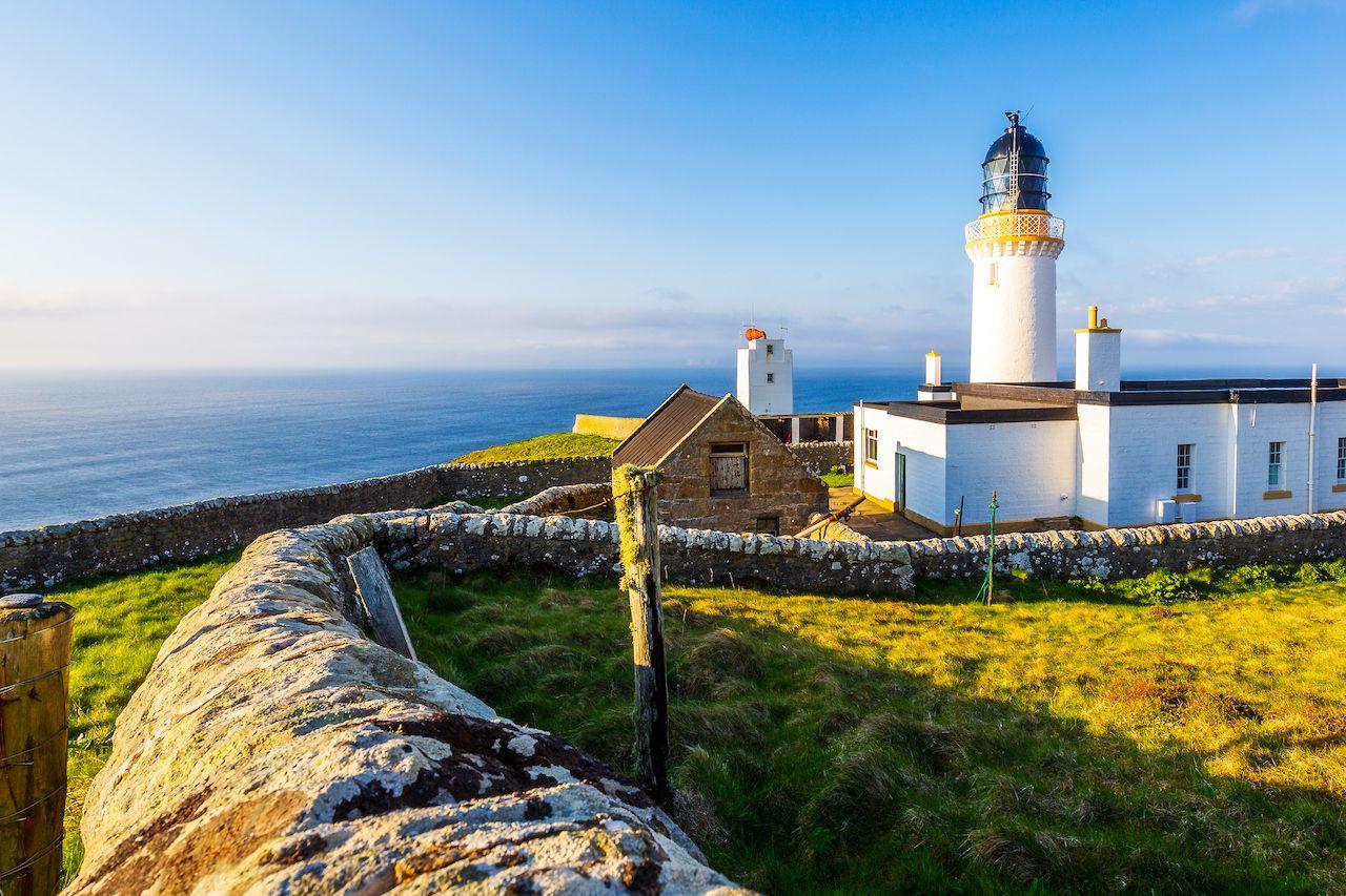 Dunnet Head Lighthouse near Brough