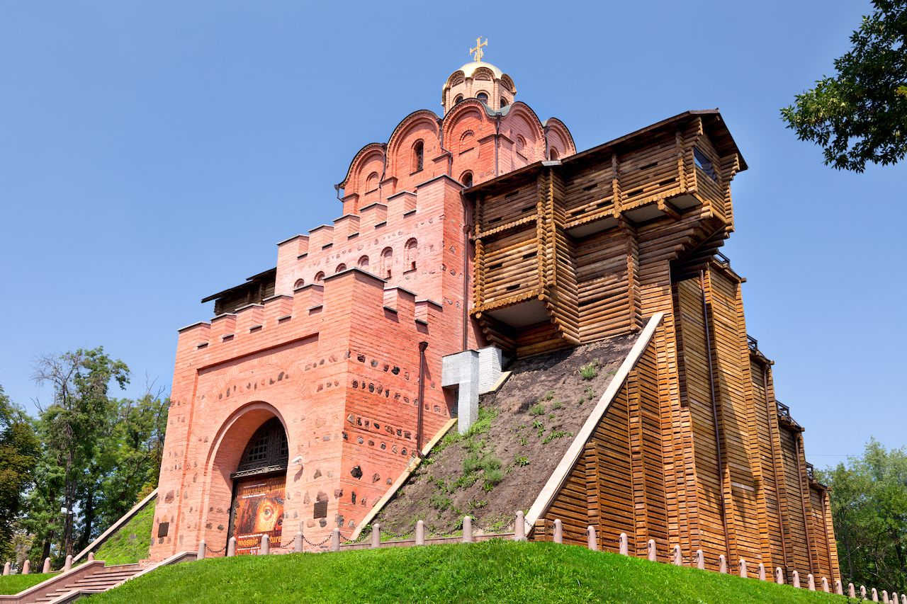 Golden Gate in Kiev