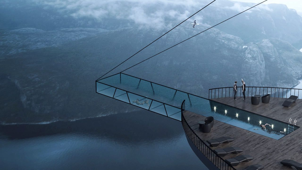 Proposed Hotel On Norwegian Preikestolen