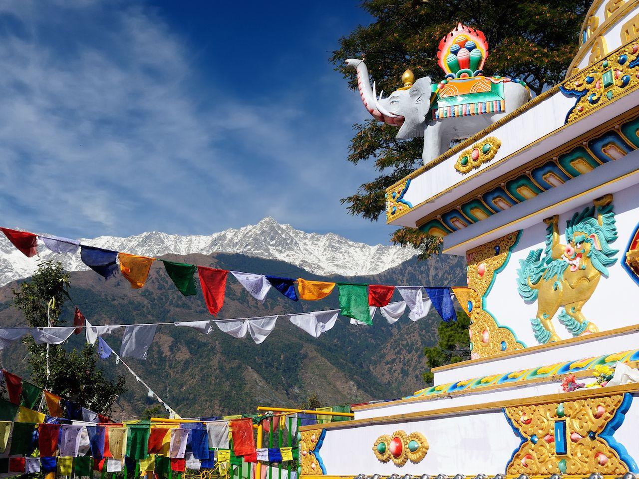 Kalaczakra temples in Dharamsala