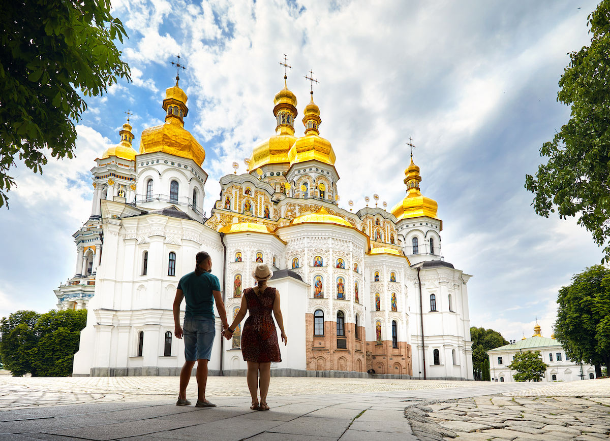 Kiev is home to the coolest architecture in Ukraine. Here's how to see it.