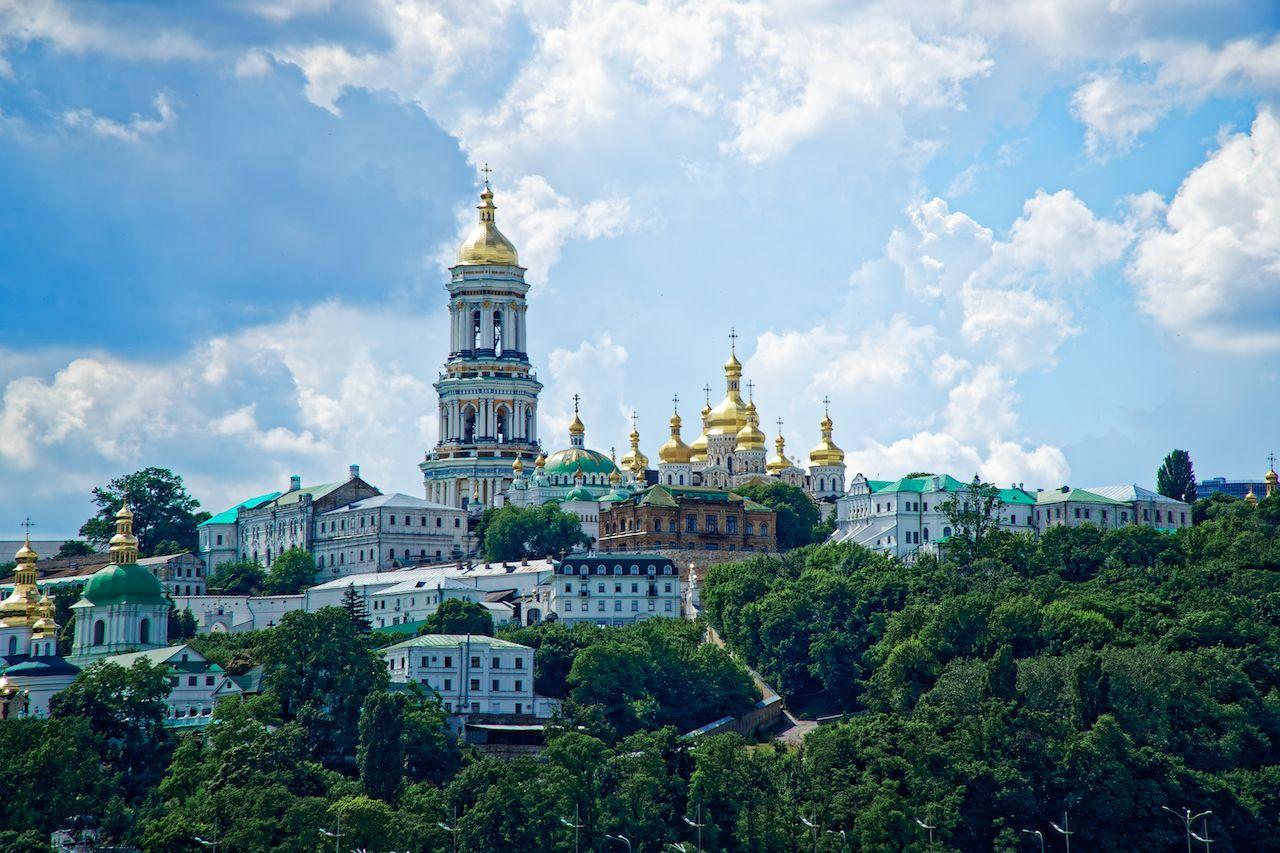Kyiv city scape