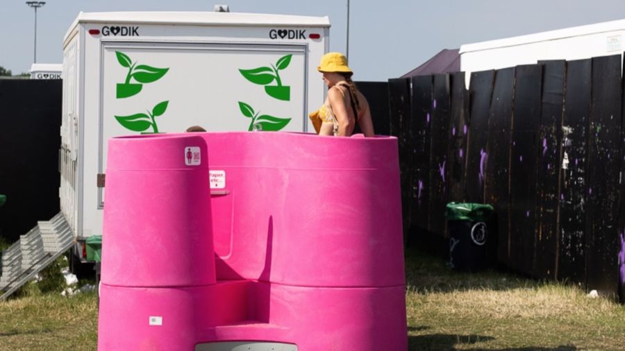 These new female urinals could be a game changer for festivalgoers