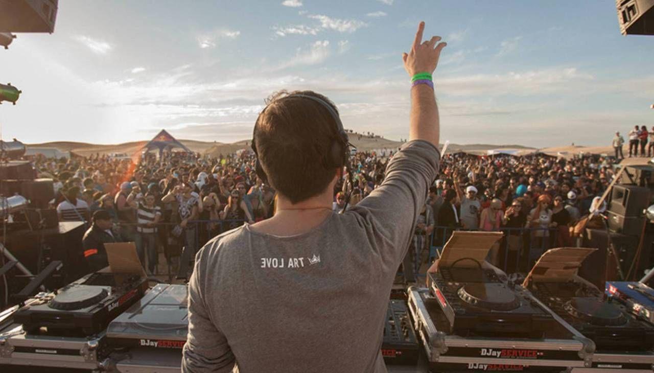 Les Dunes Electroniques music festival in Tunisia