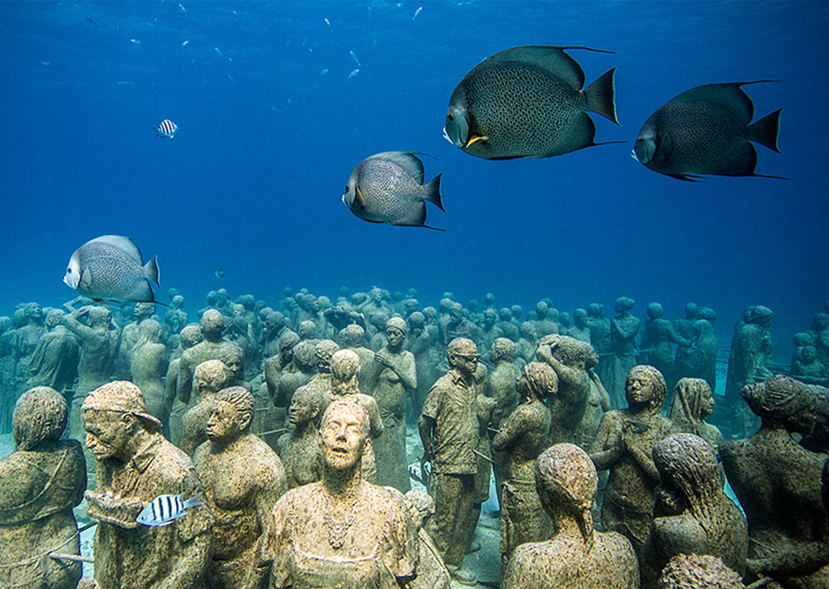 Australia's Great Barrier Reef is getting an underwater art museum