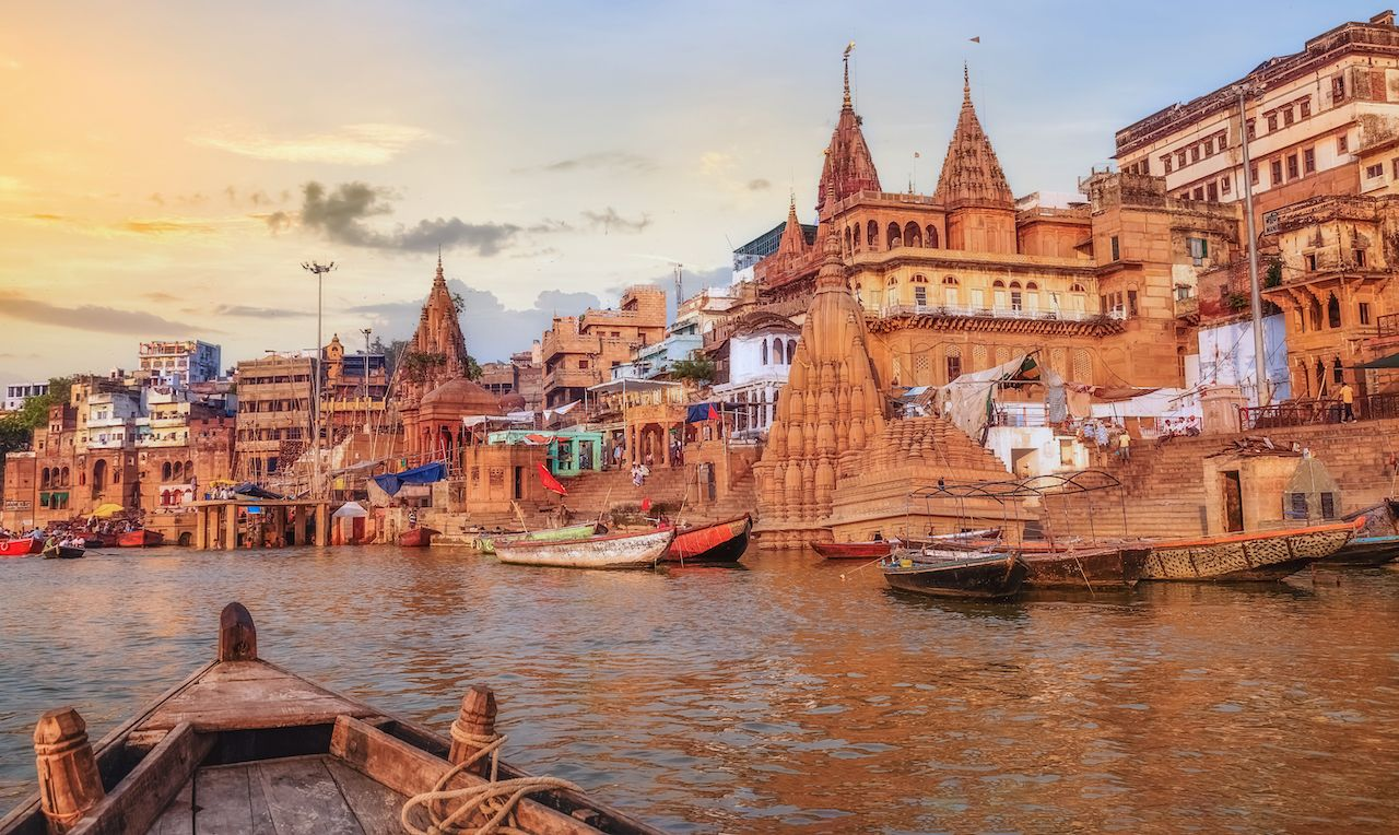 Varanasi Ganges river