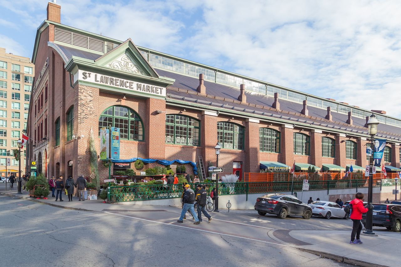 View of St. Lawrence Market in Toronto