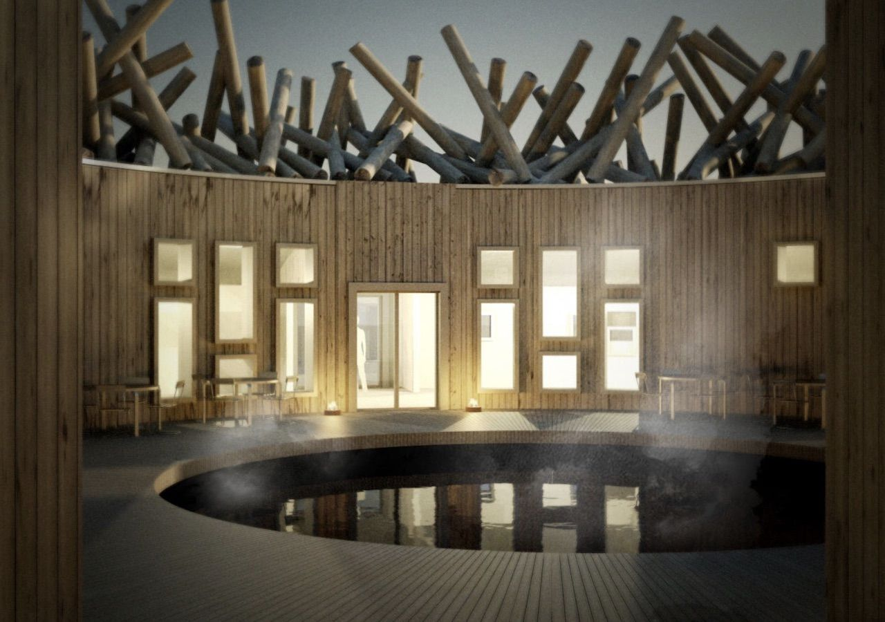 Arctic Bath Hotel and Spa in Sweden