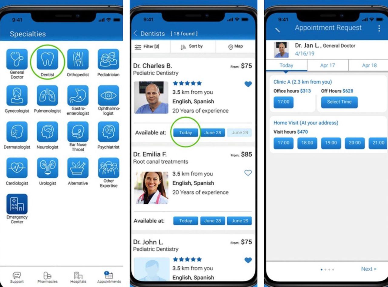 Air Doctor app
