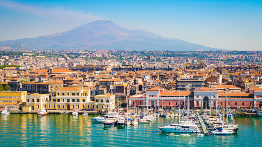 Catania in Sicily is a blend of three distinct cultures, and it's beautiful