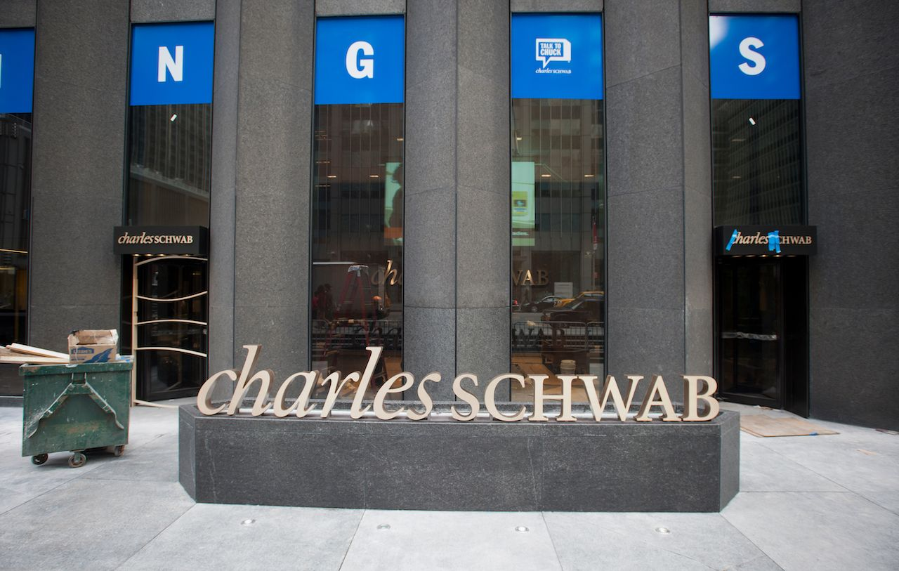 Charles Schawb in NYC