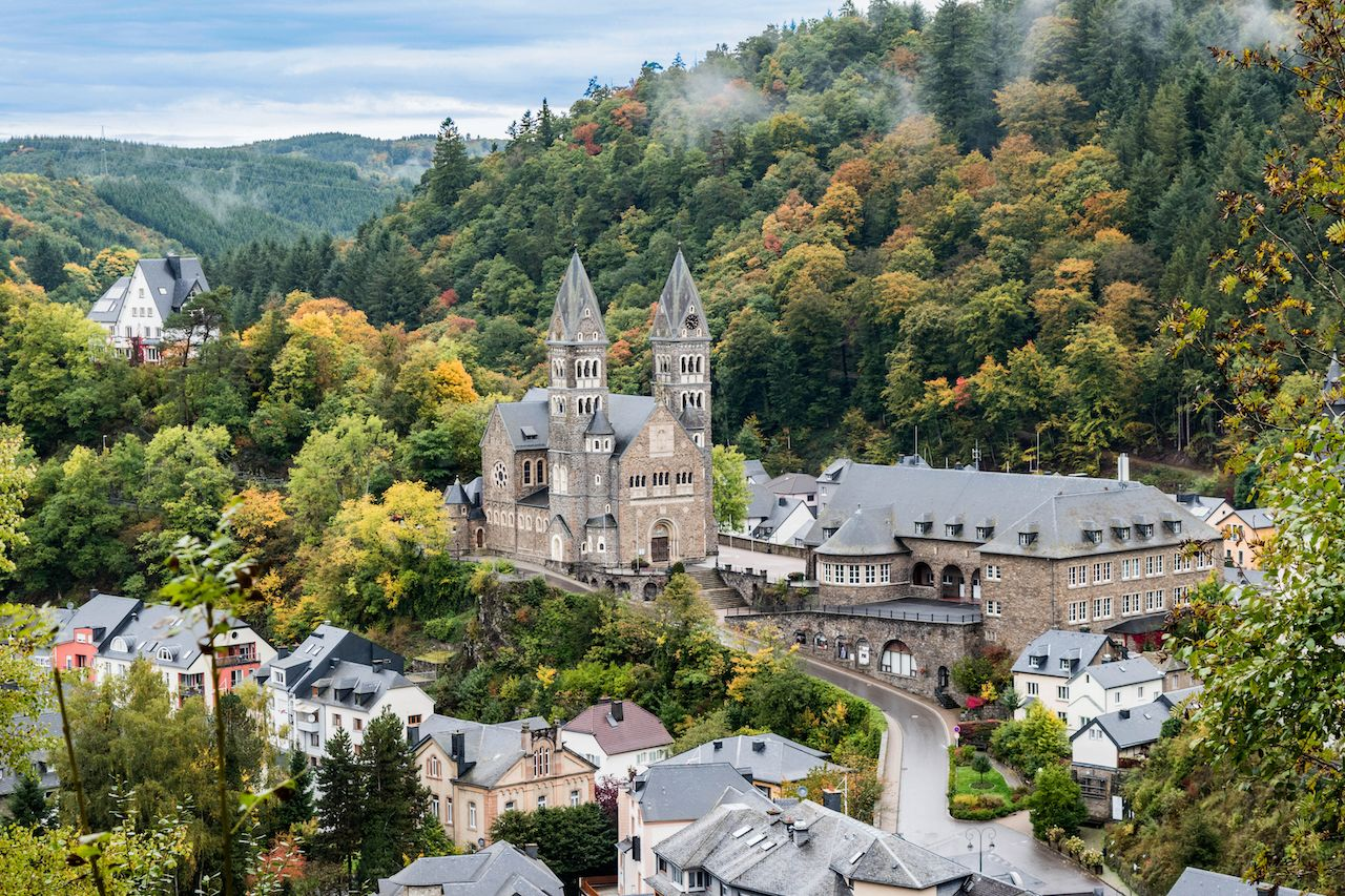 Clervaux view, Luxembourg