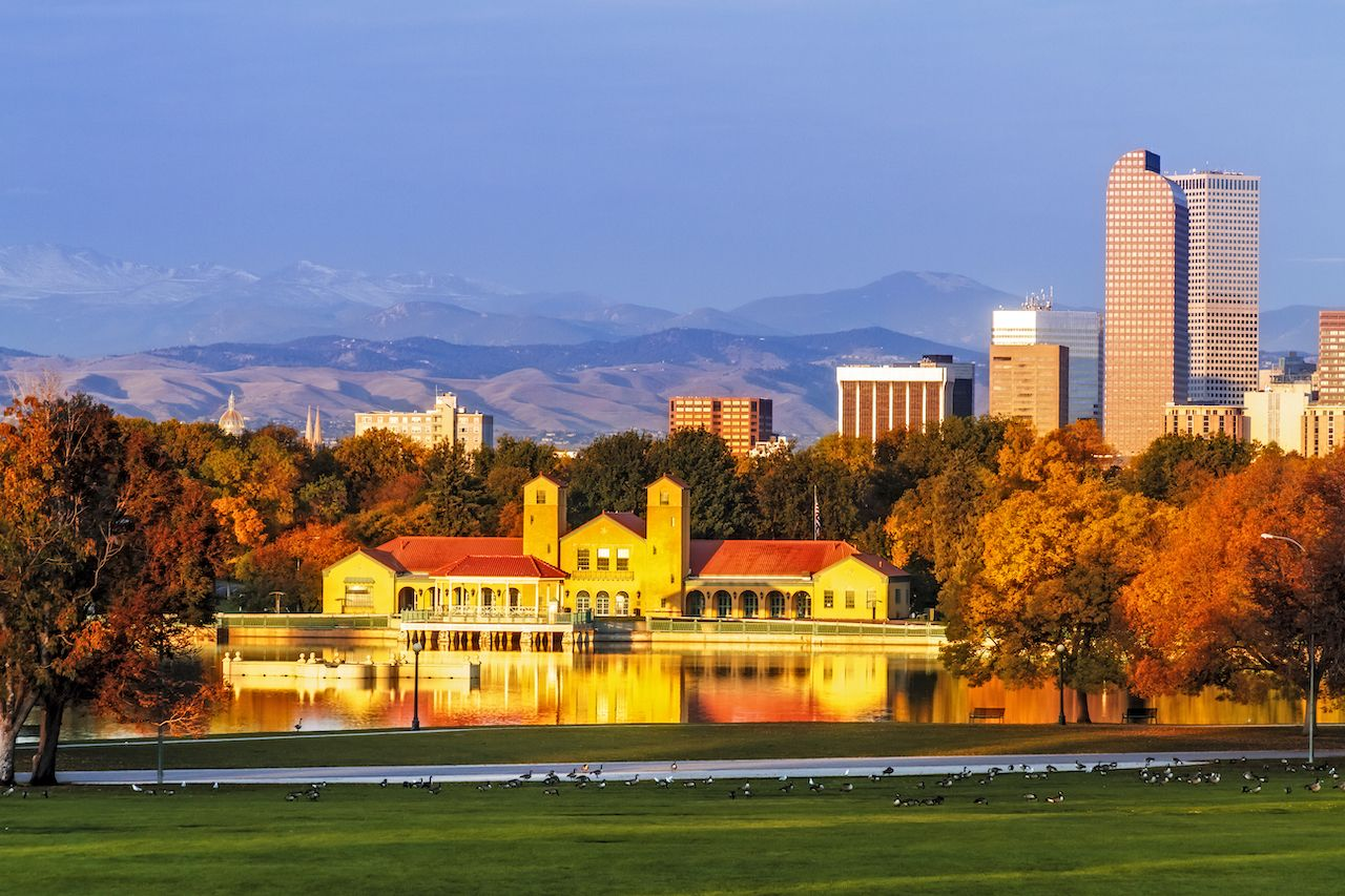 Denver, Colorado ranks in the top 3 best places to visit in fall in the US