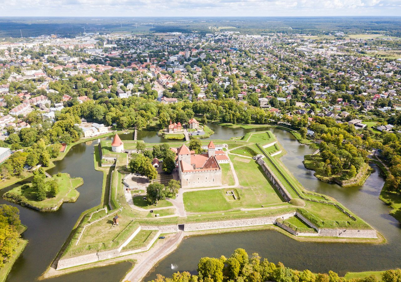 Fortifications of Kuressaare episcopal castle